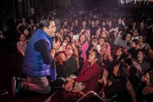 Martin Nievera performs at Suncoast Casino concert for typhoon Yolanda victims.