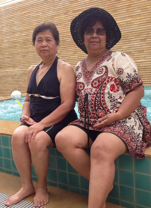 Sisters Dr. Nellie Anosa and Brenda Tiu Sonco
