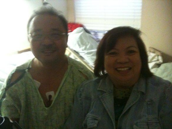 The first of several hospitalizations over the past four years. This one in Jacksonville, Florida in 2010.