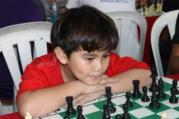 Eight-year-old Alekhine Nouri