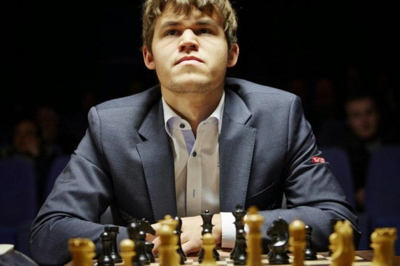 World chess champion Magnus Carlsen BY SUSAN POLGAR