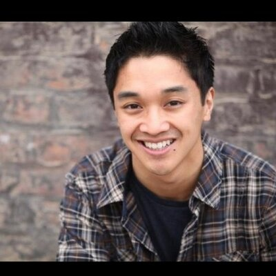 Julian DeGuzman plays Finch on Broadway musical Newsies